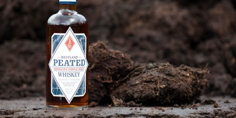 Westland Whiskey Peated American Single Malt whiskey - American spirits for 4th of July promotions