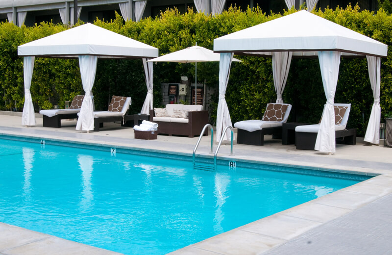 The Sunset Property Is Also Offering Poolside Food And Beverage Service.  Available Thursday Through Sunday, Some Of The Savory Poolside Bites  Include The ...