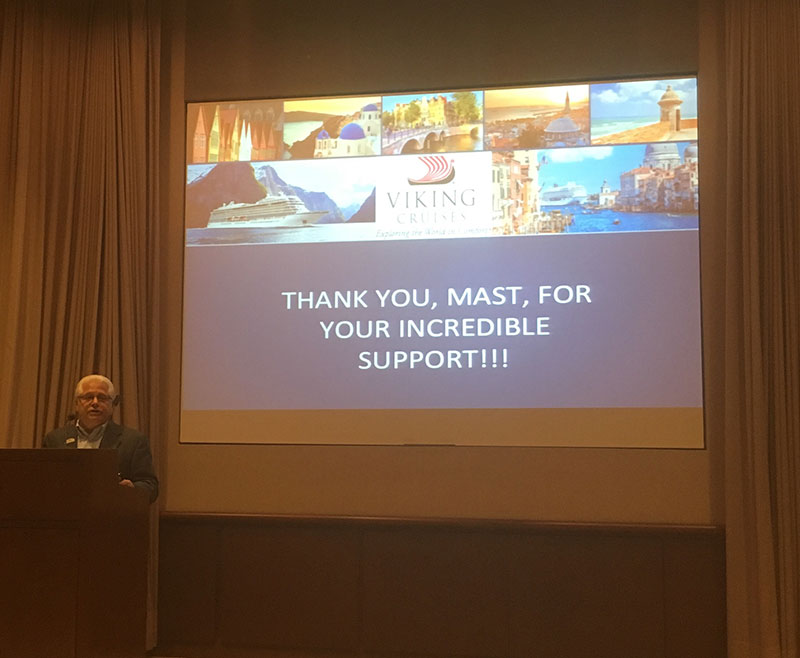 A presentation by Viking River Cruises at the Owners Summit
