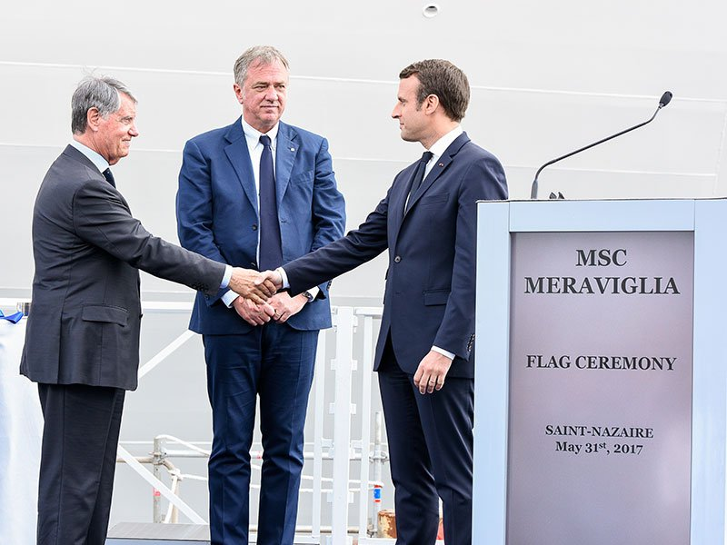 MSC finalizes order for two World Class ships