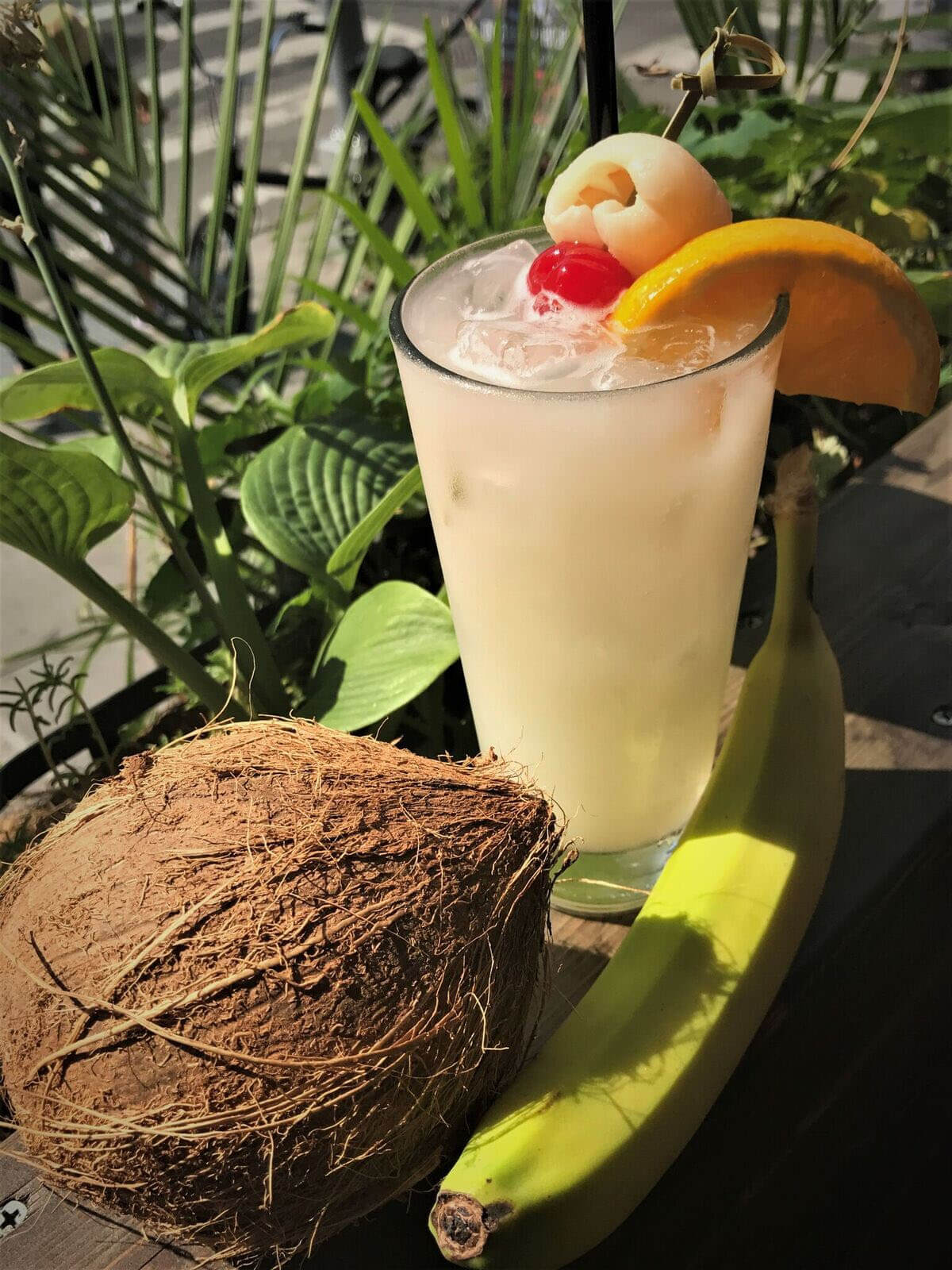 The Bowery Colada at The Bowery Beer Garden - 2017 National Piña Colada Day drink recipes