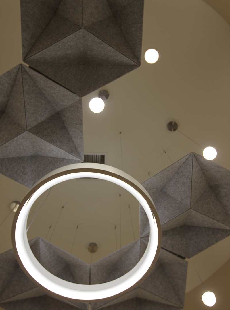 Acoustic Ceiling Panels Echostar By Woven Image Hotel