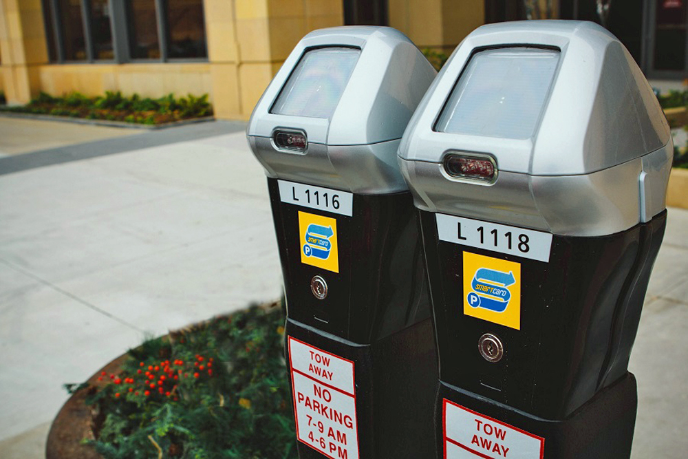IPS solar-powered parking meters eliminate hard-wiring issues.