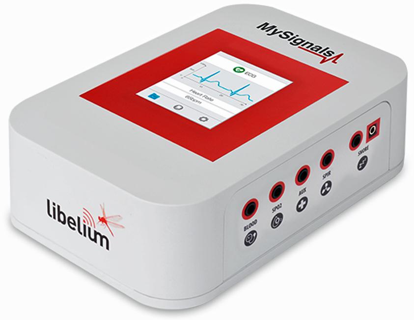 Libelium's MySignals biometrical platform measures 20+ body parameters.