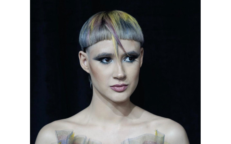 U.S. STUDENT CATEGORY WINNER: Maria de Lourdes Valentin Narvaez, Modern Hairstyling Institute, Bayamon, PR