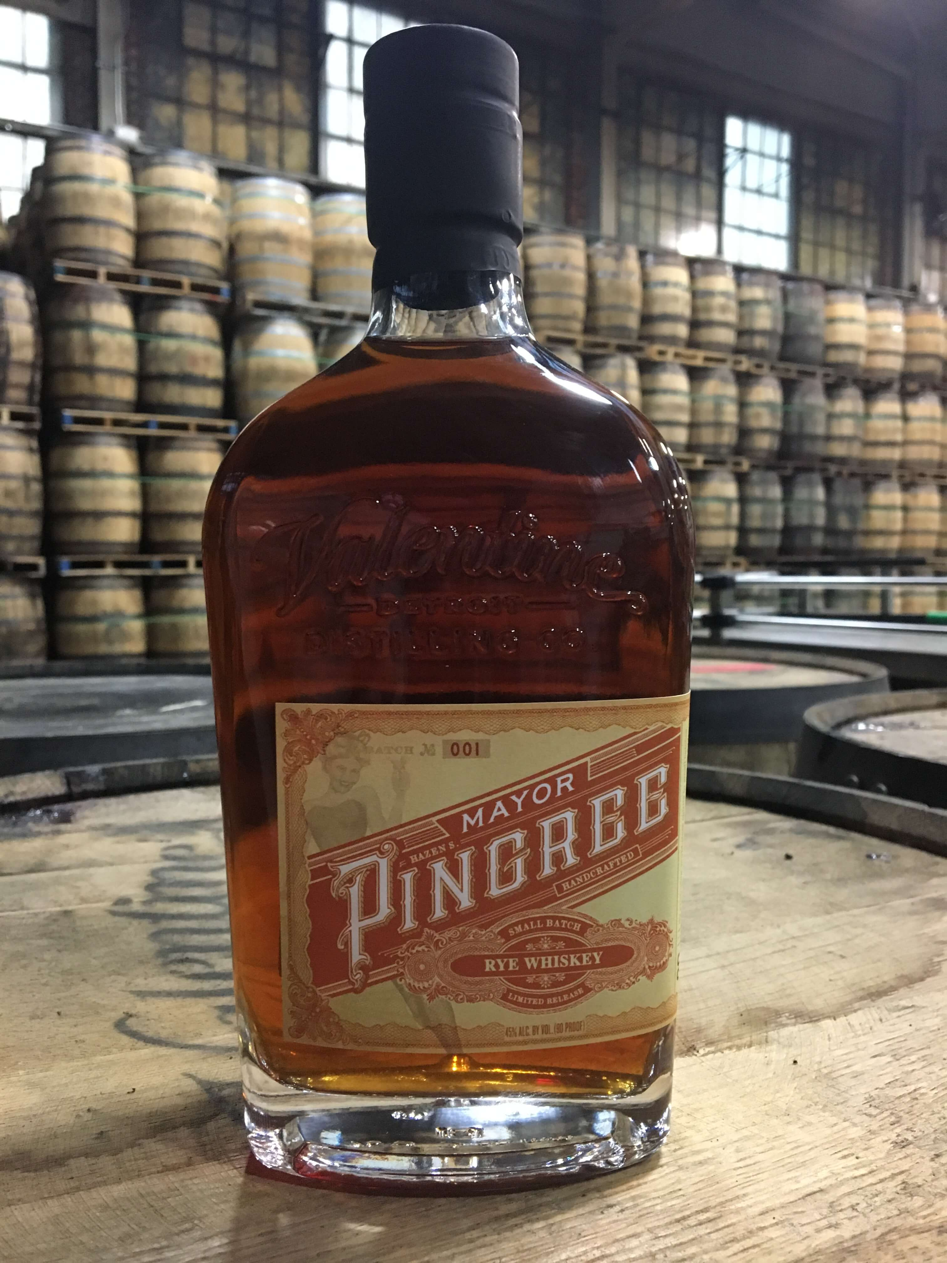 Valentine Distilling Co. begins stocking shelves with Mayor Pingree Rye Whiskey - What's Shakin' week of July 10
