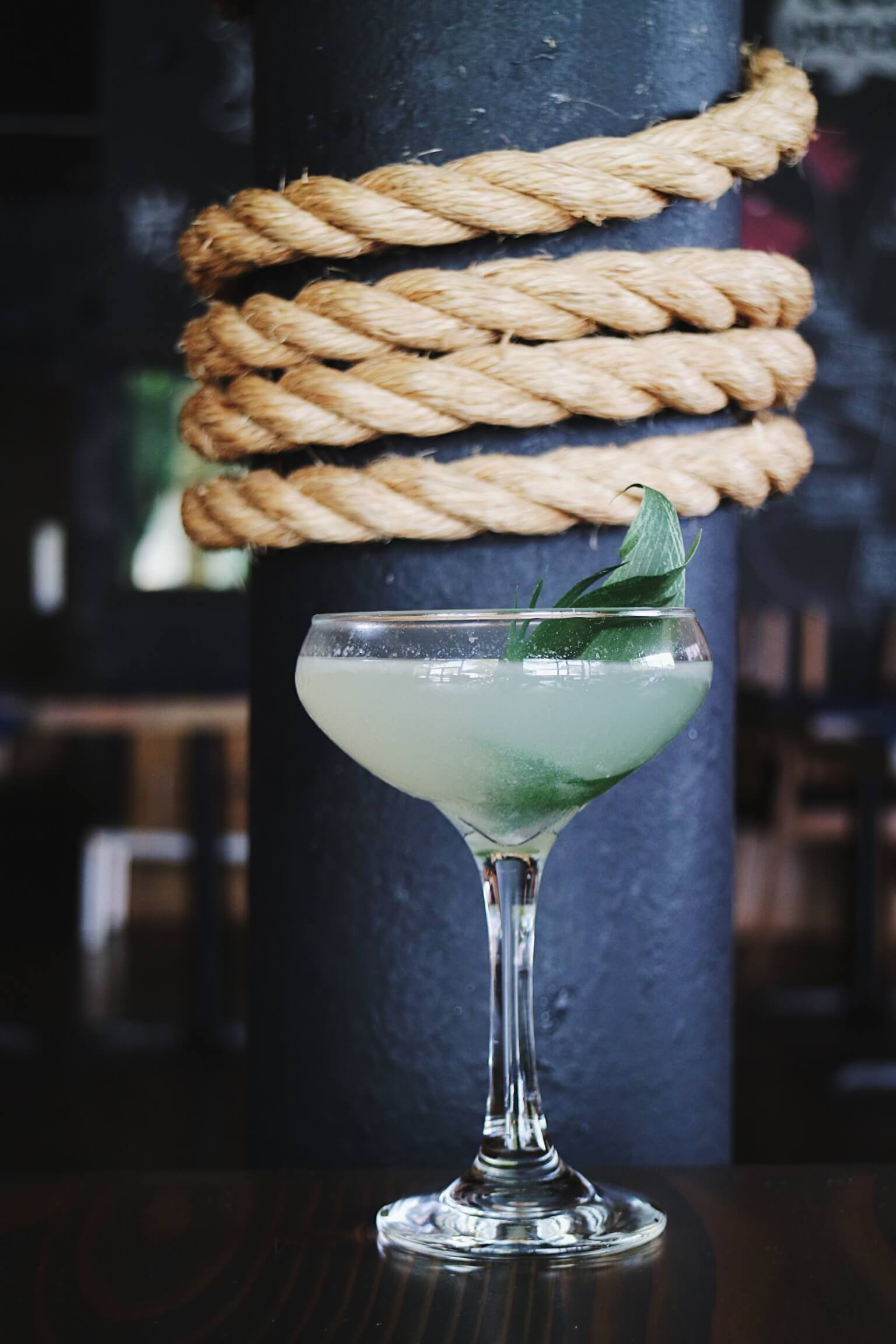 Mr. Miyagi cocktail at Brush Sushi Izakaya - Sesame cocktail recipes