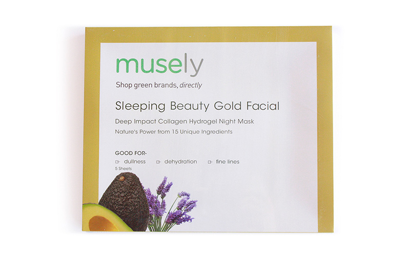 Sleeping Beauty Gold Facial by Musely