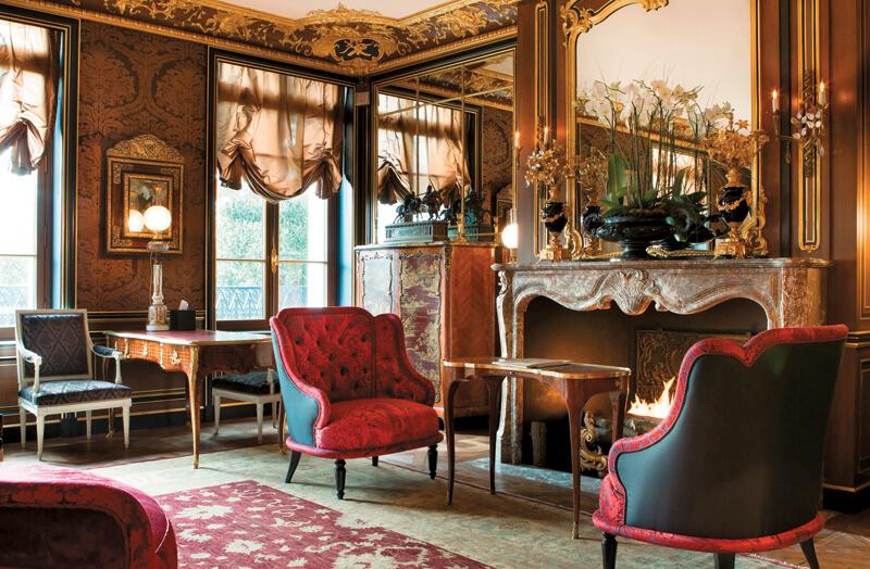 la r serve hotel and spa an elegant urban resort in paris luxury travel advisor. Black Bedroom Furniture Sets. Home Design Ideas