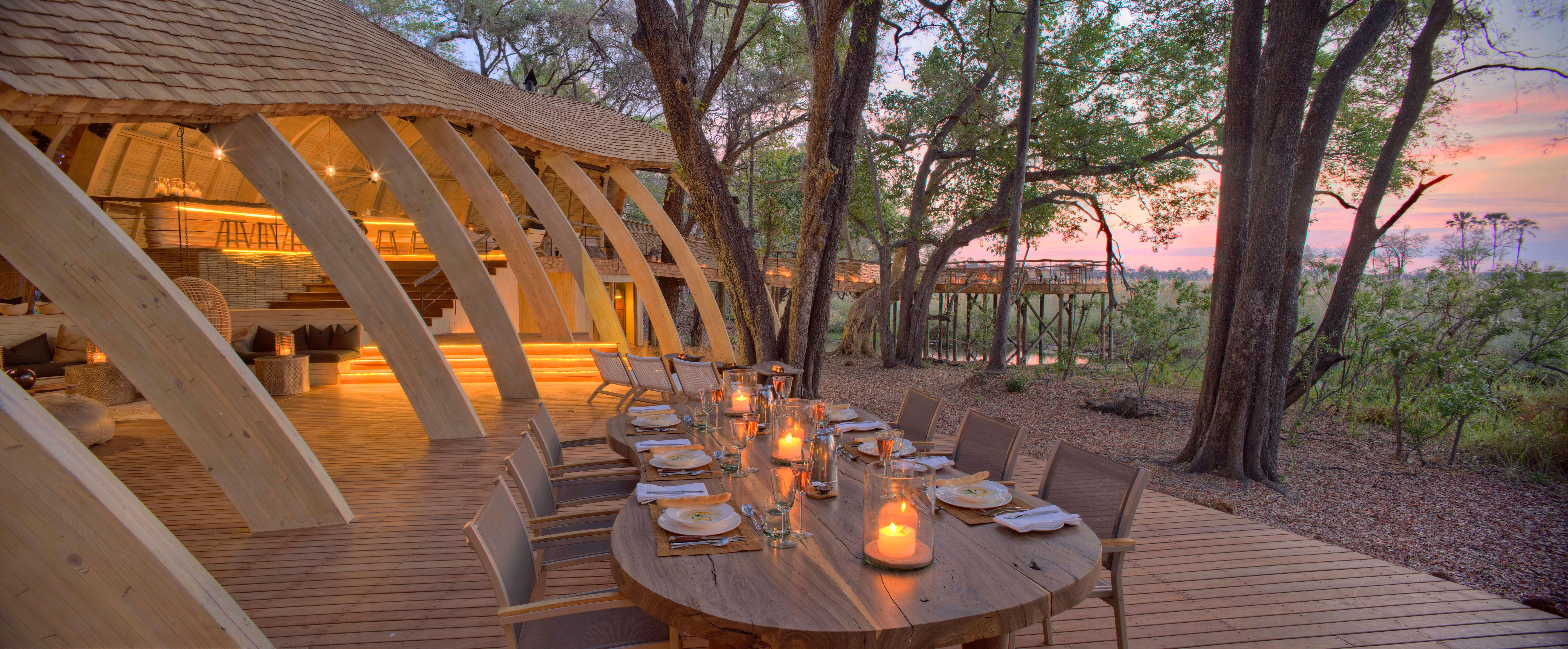 Сафари лодж sandibe okavango: роскошный бутик-отель в ботсва.