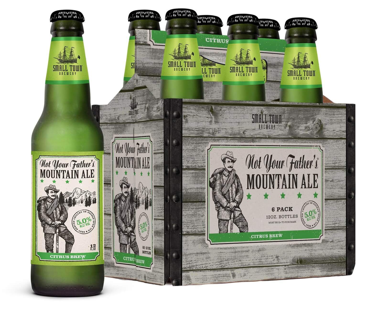 Small Town Brewery announces Not Your Father's Mountain Ale - What's Shakin' week of July 24