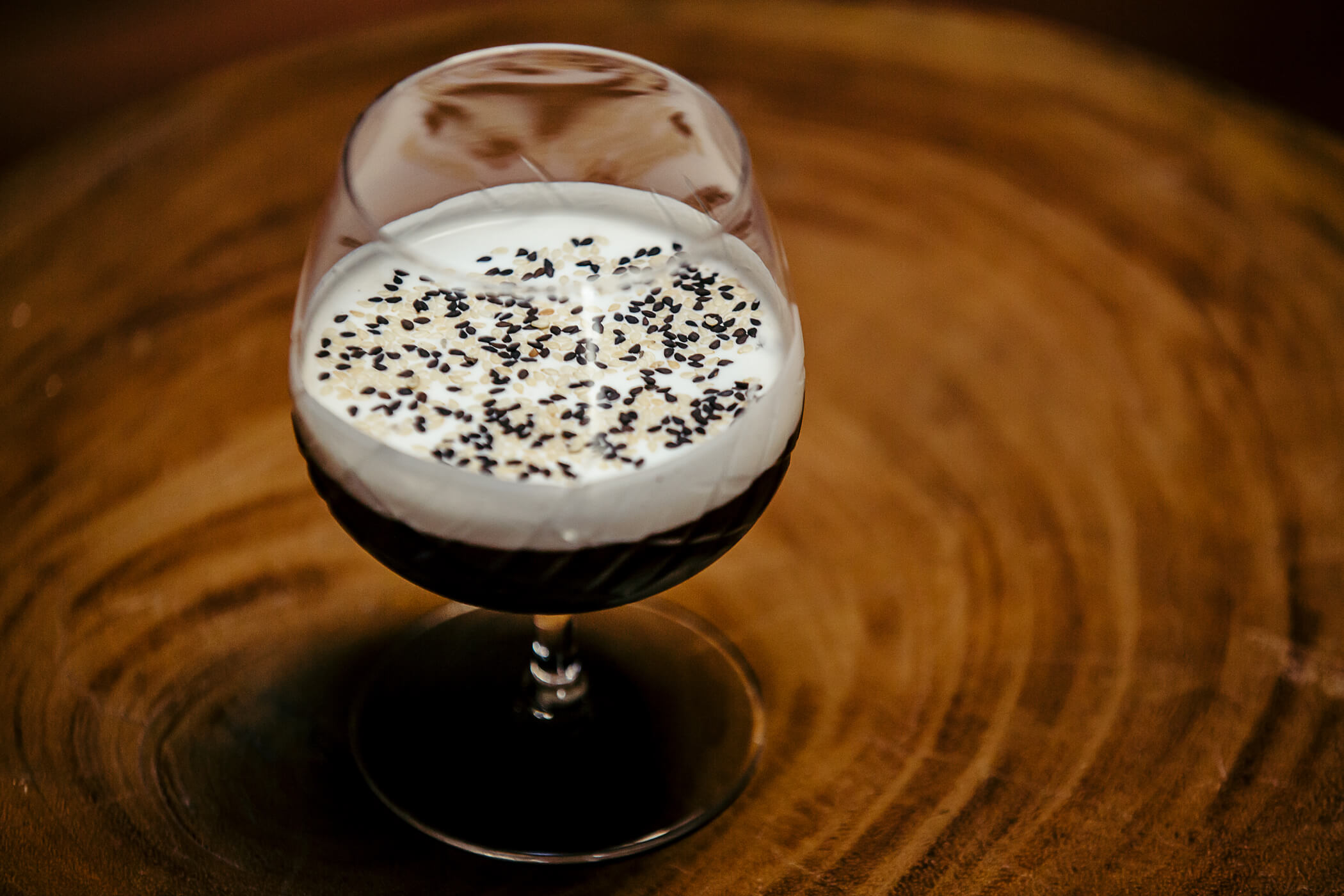 Turn Down for Nut cocktail at Pacific Cocktail Haven (PCH) - Sesame cocktail recipes
