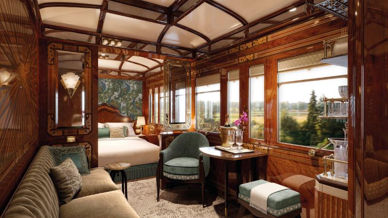 Belmond train cabins