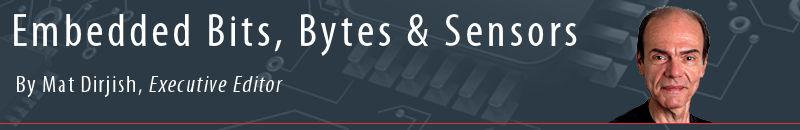 Embedded Bits, Bytes & Sensors by Mat Dirjish