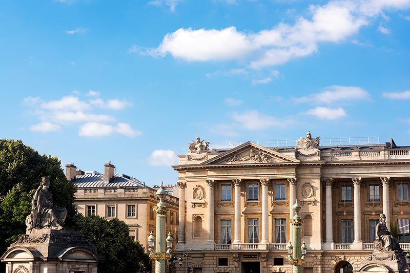 The Hotel de Crillon in Paris just debuted a gut renovation.