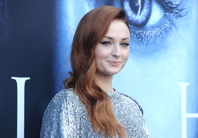 Sophie Turner and Wella at GoT Premiere