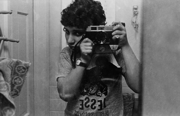 Jesse Kalisher Teenage Self Portrait circa 1970s