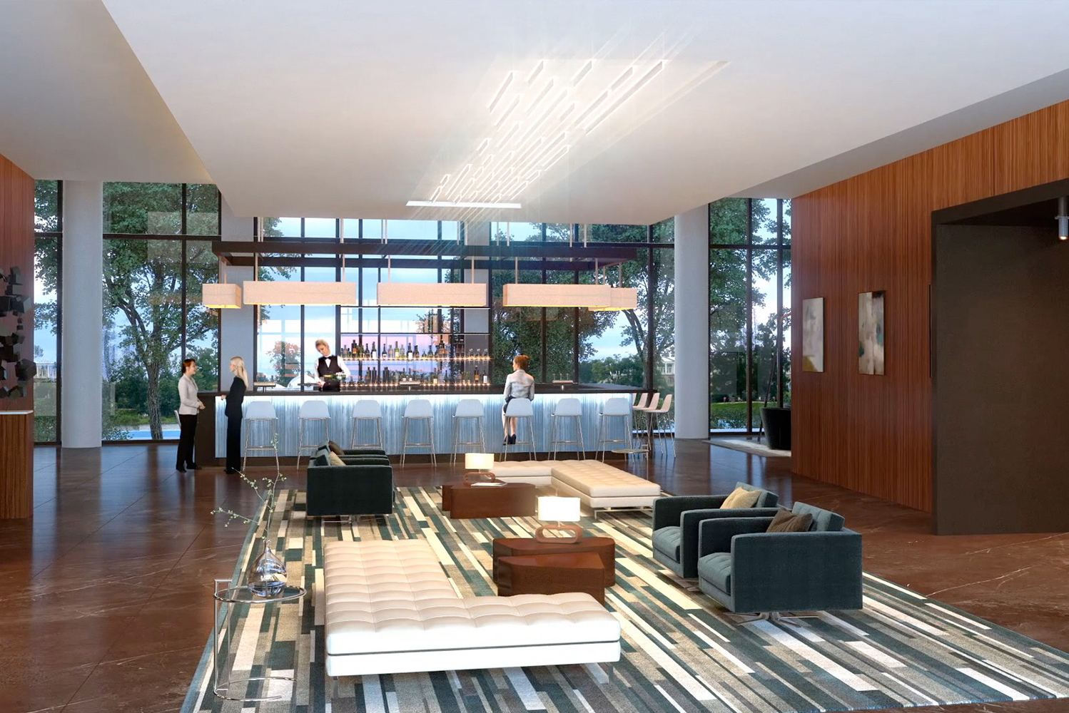 The hotel will feature a spacious lobby, AC Lounge and meeting rooms, each incorporating elements of European Modernism.
