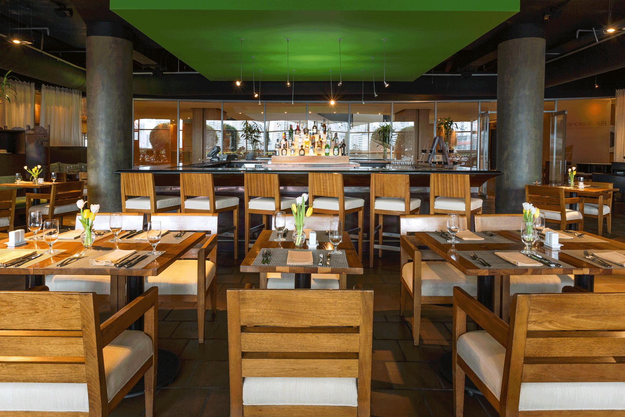 The hotel's Barcelona restaurant