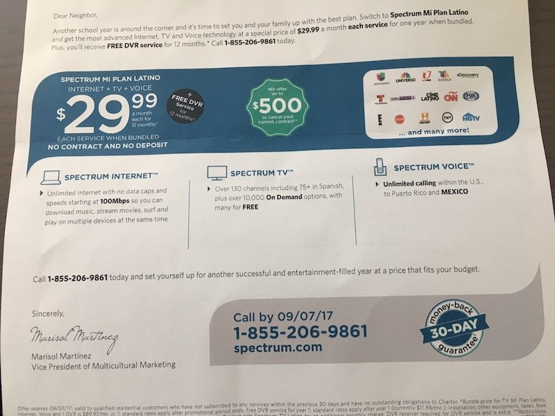 Charter communications coupons online