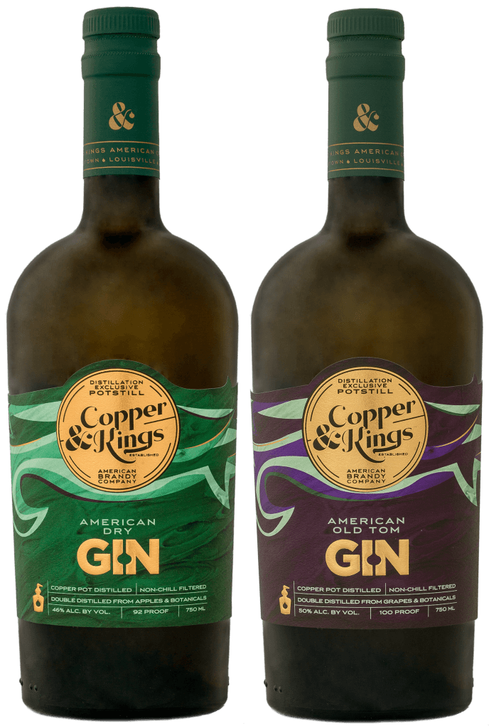 Copper & Kings American Brandy Co. American Dry Gin and American Old Tom Gin - What's Shakin' week of July 31