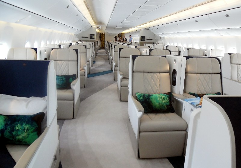 Crystal Skye features executive class Zodiac seats with plenty of leg room.