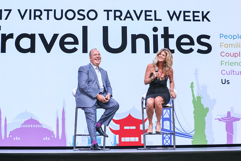 The week opened with a keynote address on the network's growth by Upchurch