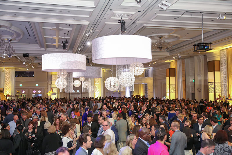 Welcome reception during Virtuoso Travel Week