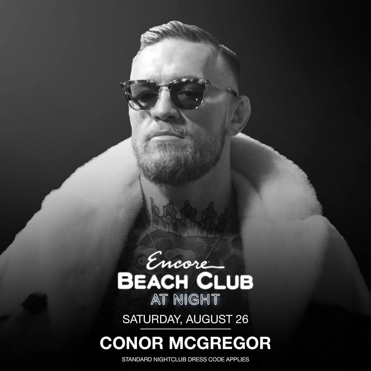 Conor McGregor hosting residency at Encore Beach Club and XS Nightclub - What's Shakin' week of July 31
