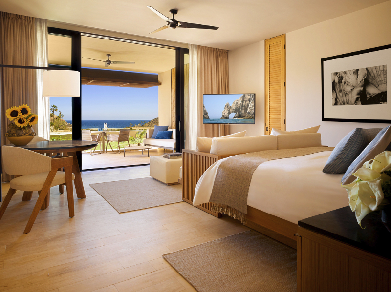 A room at Montage Los Cabos