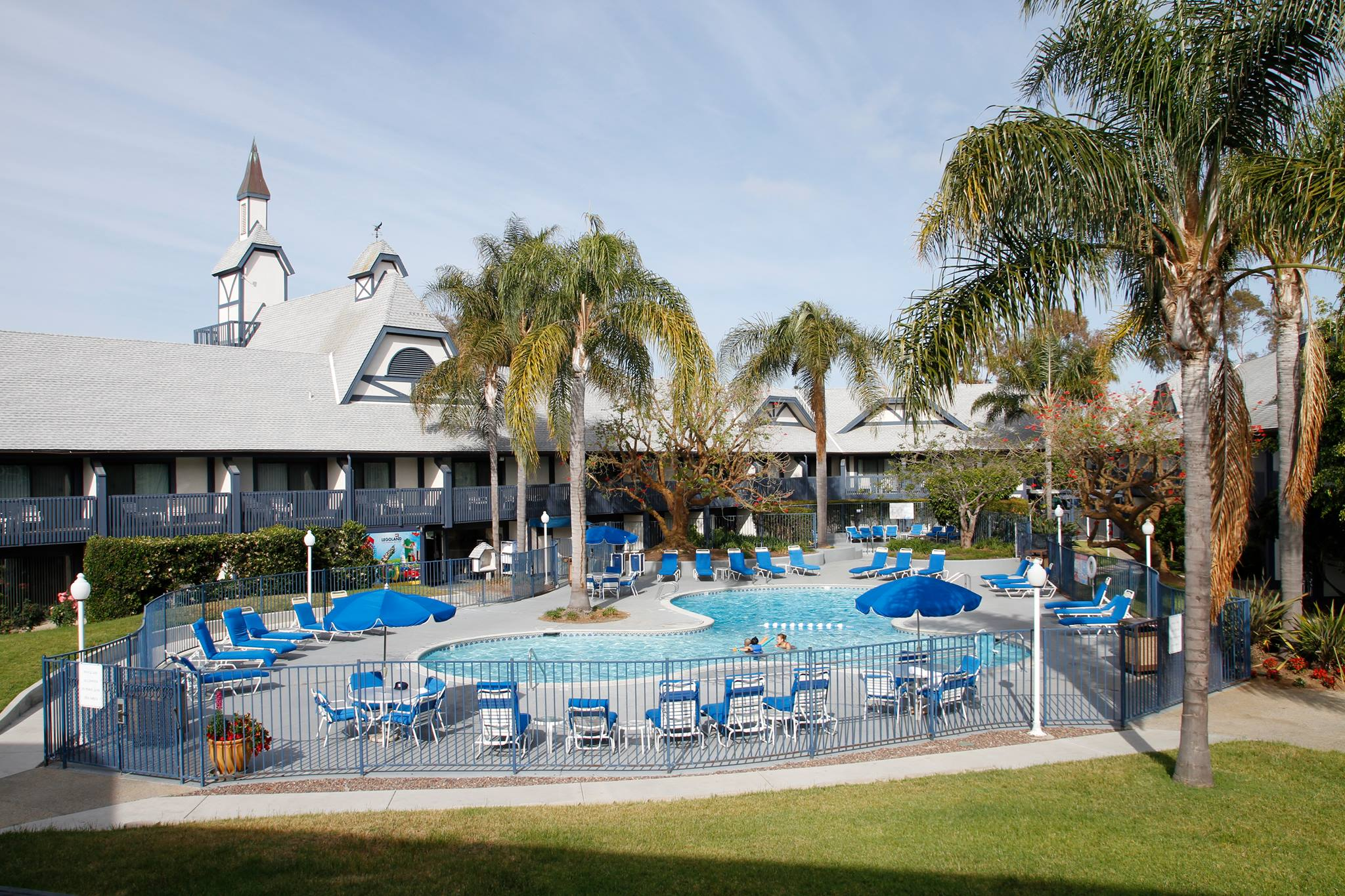 The Carlsbad by the Sea Resort in Carlsbad, California, owned by RAR Hospitality, is a former Holiday Inn.