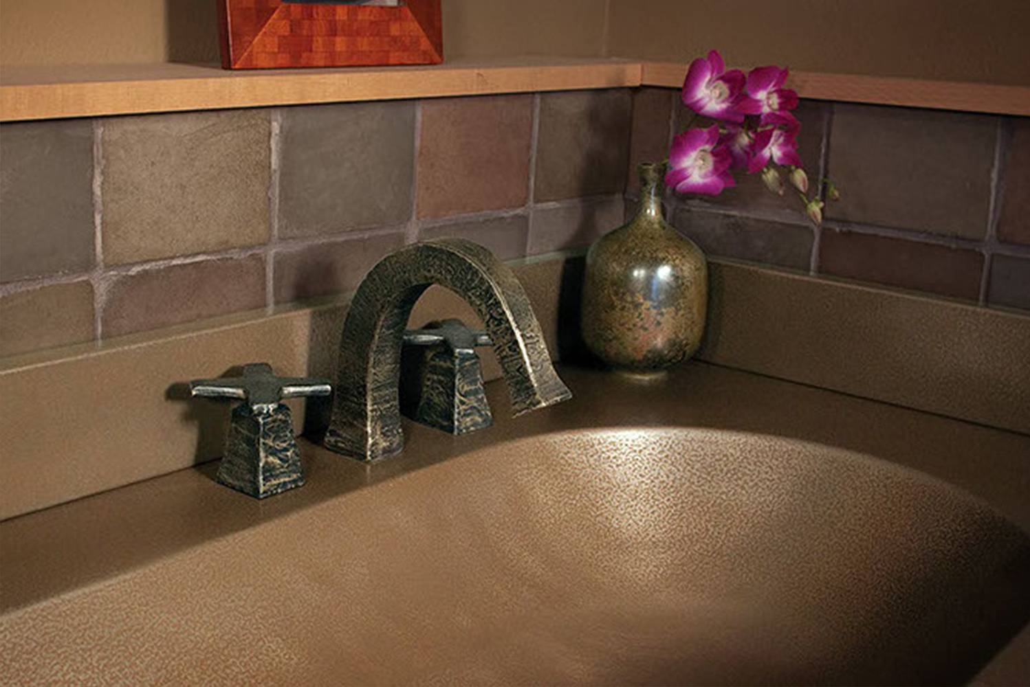 Sonoma Forge launched the CiXX collection of rustic designer faucets.