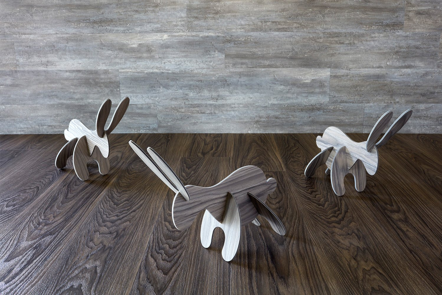 Gerflor USA launched the Creation Living collection, which provides gray and white stain options, as well as wood designs.