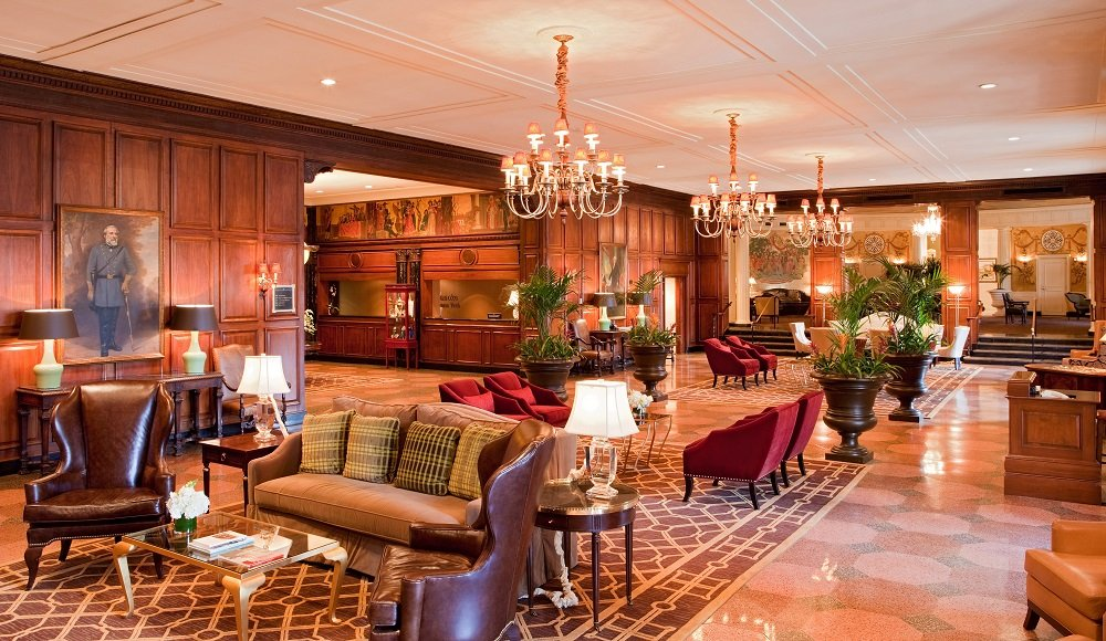 The Hotel Roanoke in Roanoke, Va., joined the Curio Collection after operating as a DoubleTree for years.