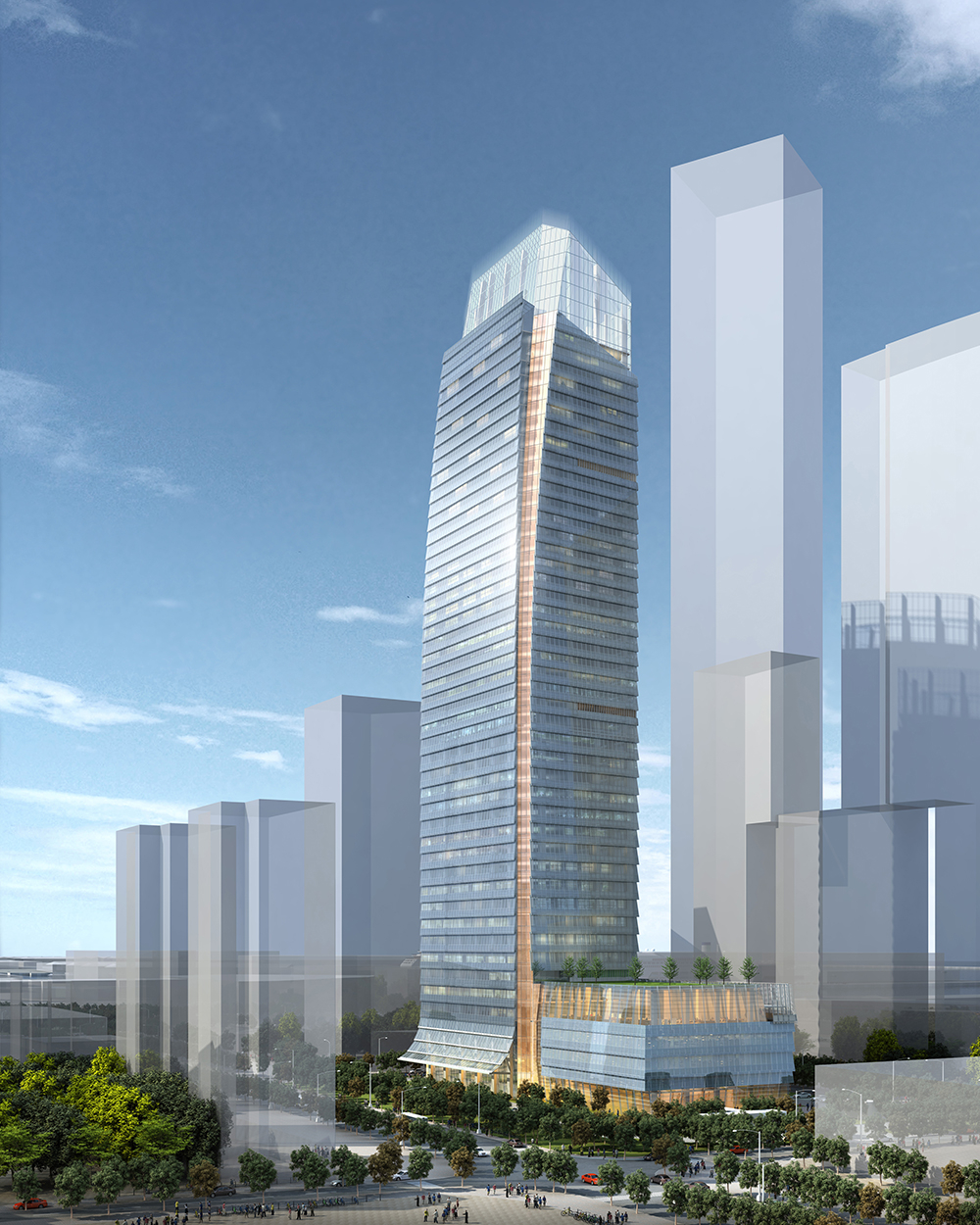The Four Seasons Hotel Dalian will include approximately 250 guestrooms
