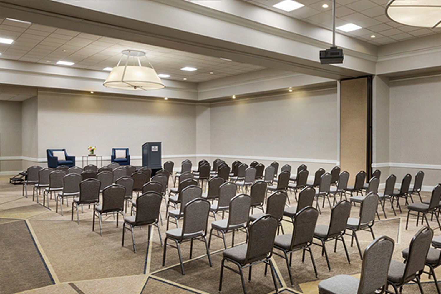 For events, the property has 20,000 square feet of flexible space, which can accommodate groups of up to 1,300.