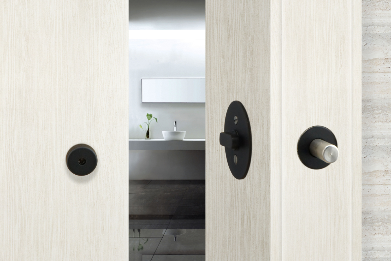 Added Security Privacy Barn Door Lock By Inox Hotel