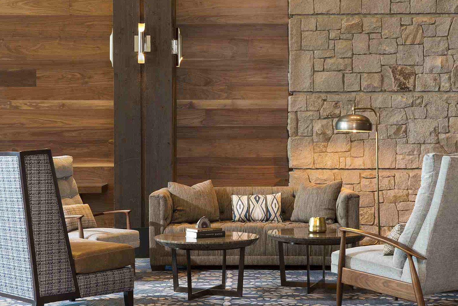 Hirsch Bedner Associates (HBA) completed The Lodge at Edgewood Resort.