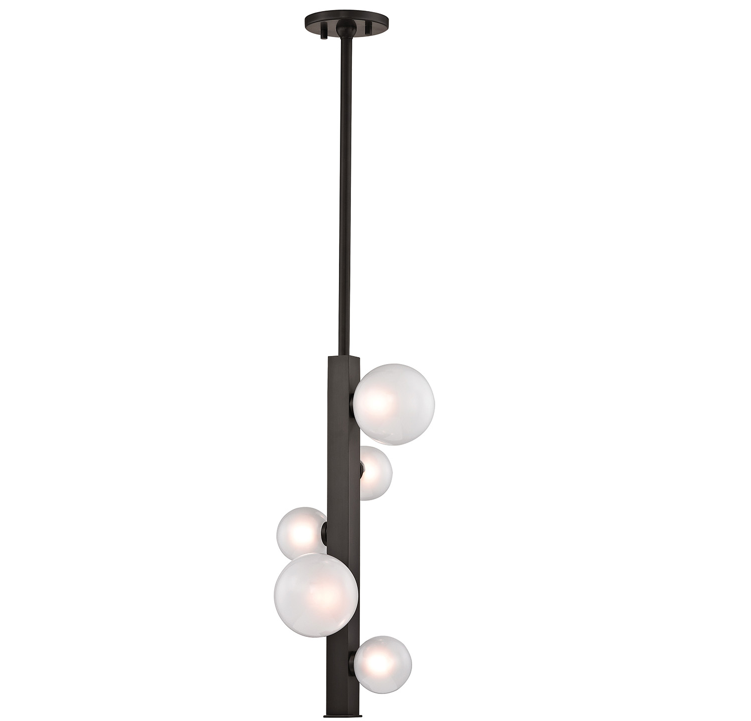 The Mini is offered in brass, bronze and nickel finishes and it is available as a pendant, sconce and floor or table lamp