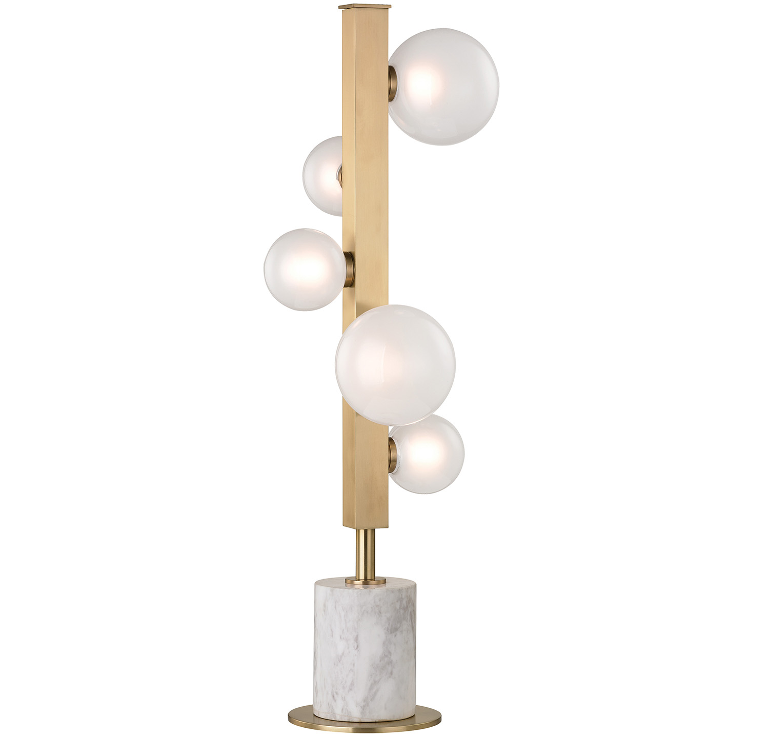 Hudson Valley Lighting launched the Mini-Hinsdale, a more compact variation of the larger Hinsdale fixture.
