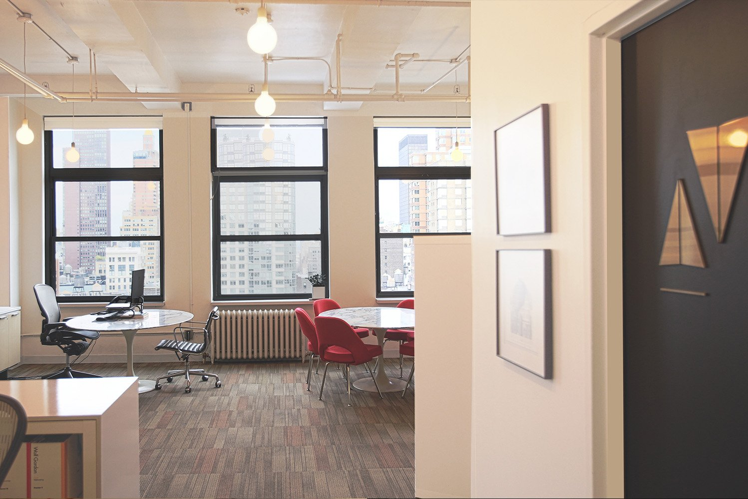 The firm's new location will allow it to provide interior design services, as well as custom artwork, graphic design, project management, and branding services to prospective New York-based clients.