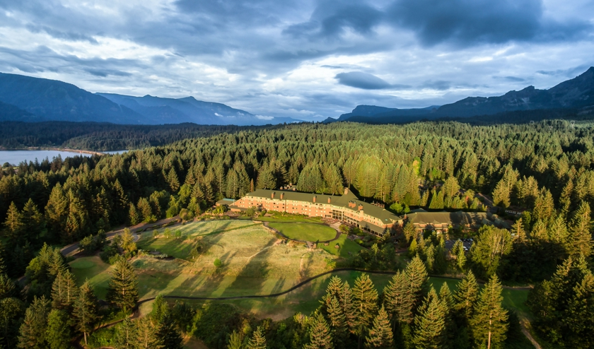 The new lodges will join the two existing treehouse accommodations at Skamania Lodge.