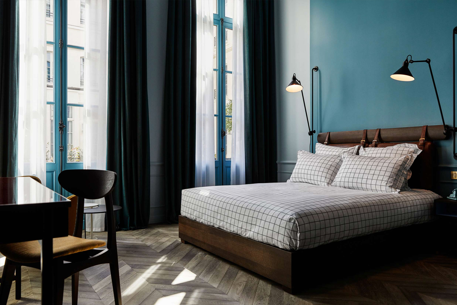 The Hoxton, Paris is the brand's largest property with 171 guestrooms. It opens in an 18th-century hotel particulier.