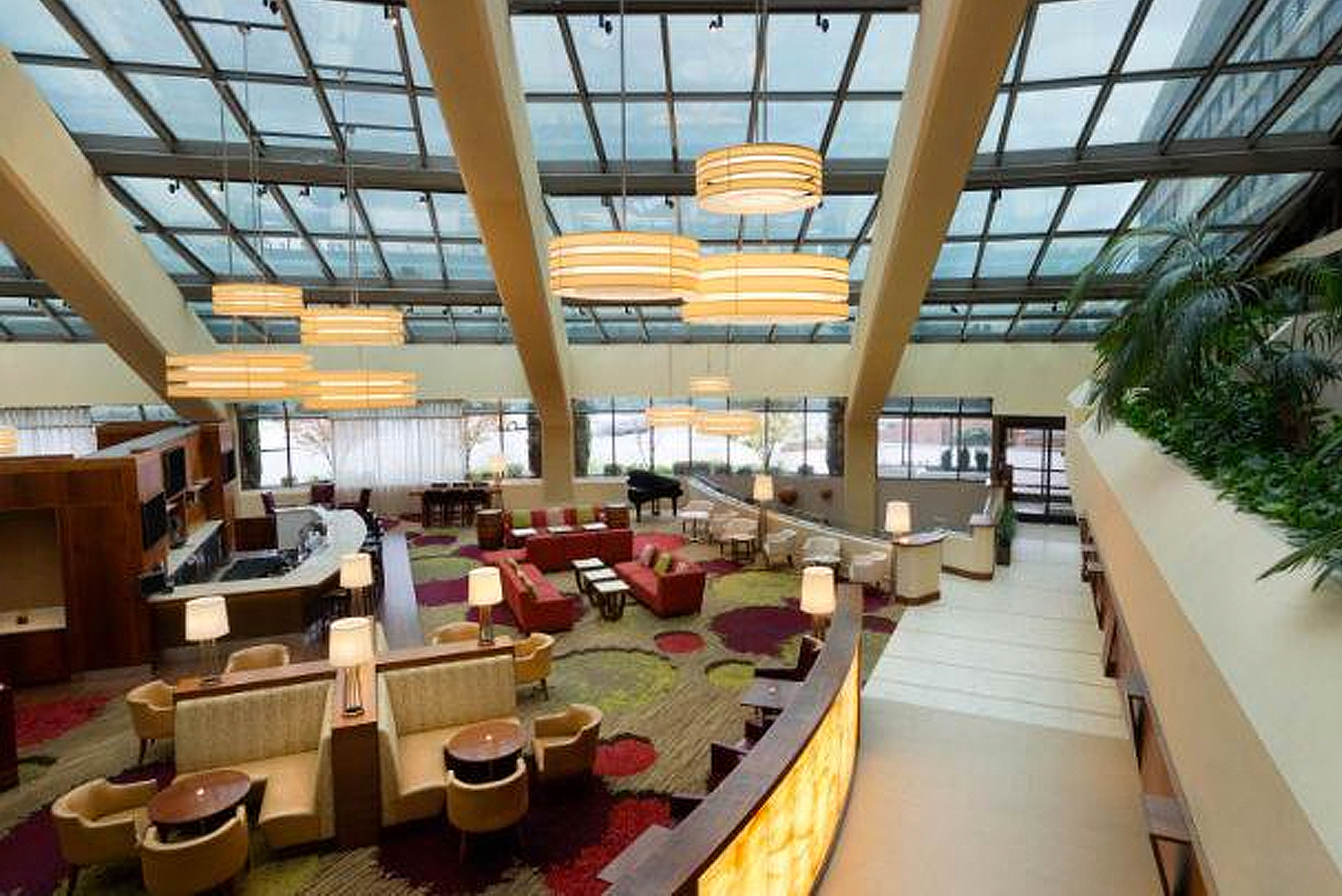 Redesign of WCG Hotels' property transforms guestrooms, meeting rooms, common areas, lounges and entrances into upscale experience.
