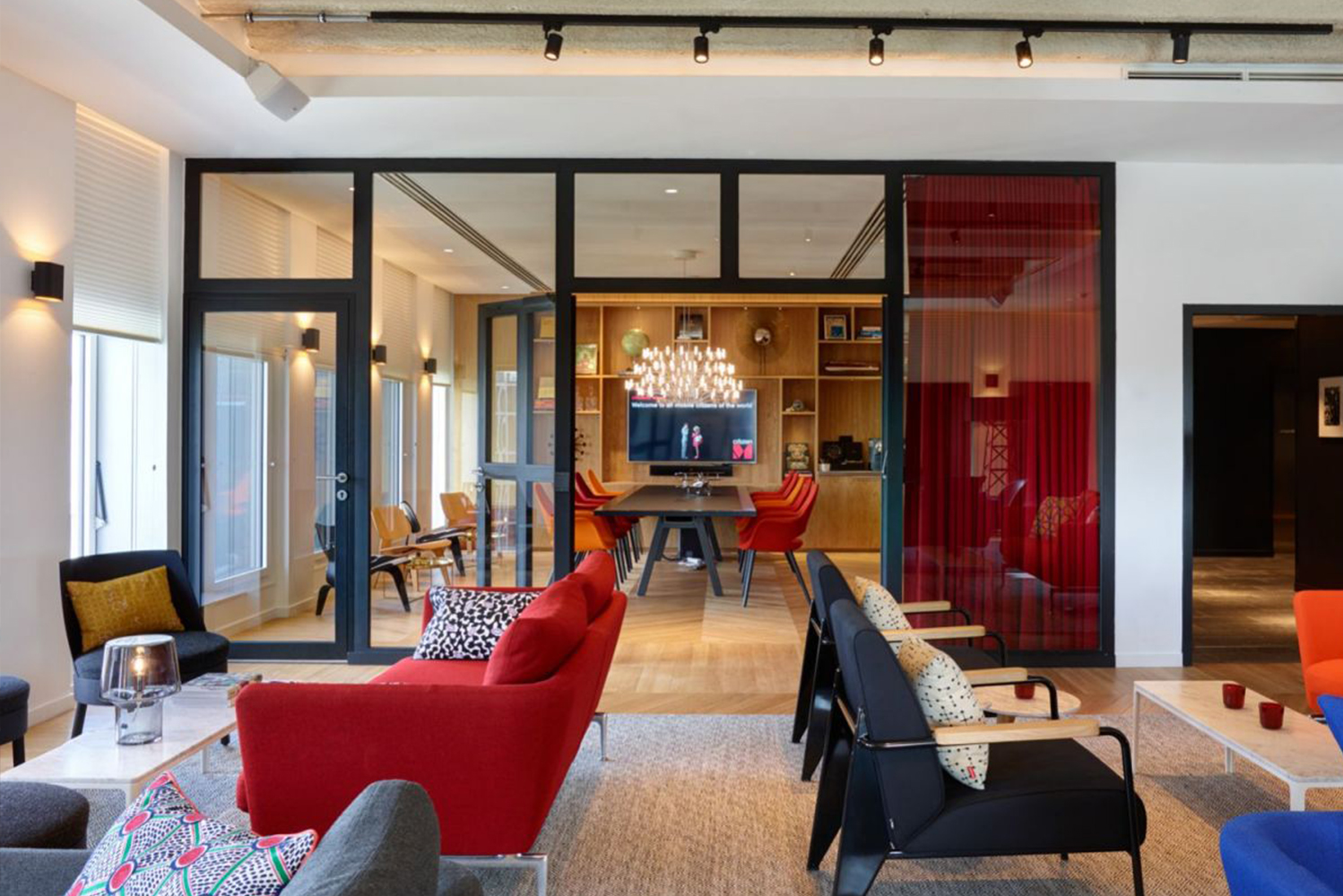 Housed in a former office block and designed by Amsterdam-based design firm Concrete, the 338-room hotel is located near the Gare de Lyon train station.