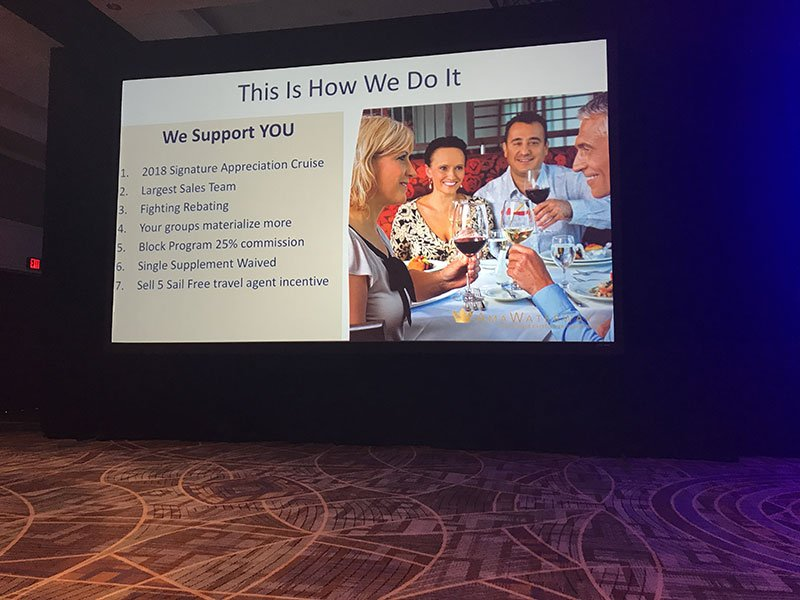 Attendees also got an update on Signature's support initiatives
