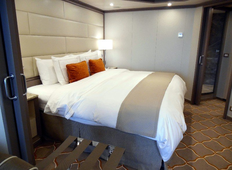 Bedroom in Silver Suite on Silver Muse