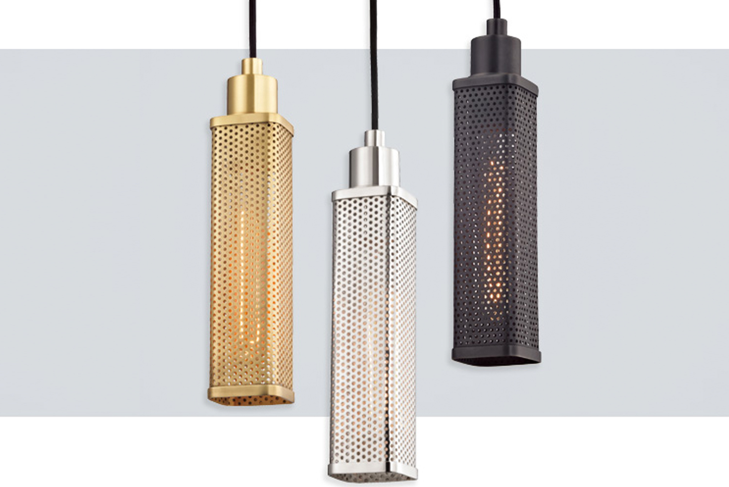 Gibbs by Hudson Valley Lighting has a Machine Age aesthetic.