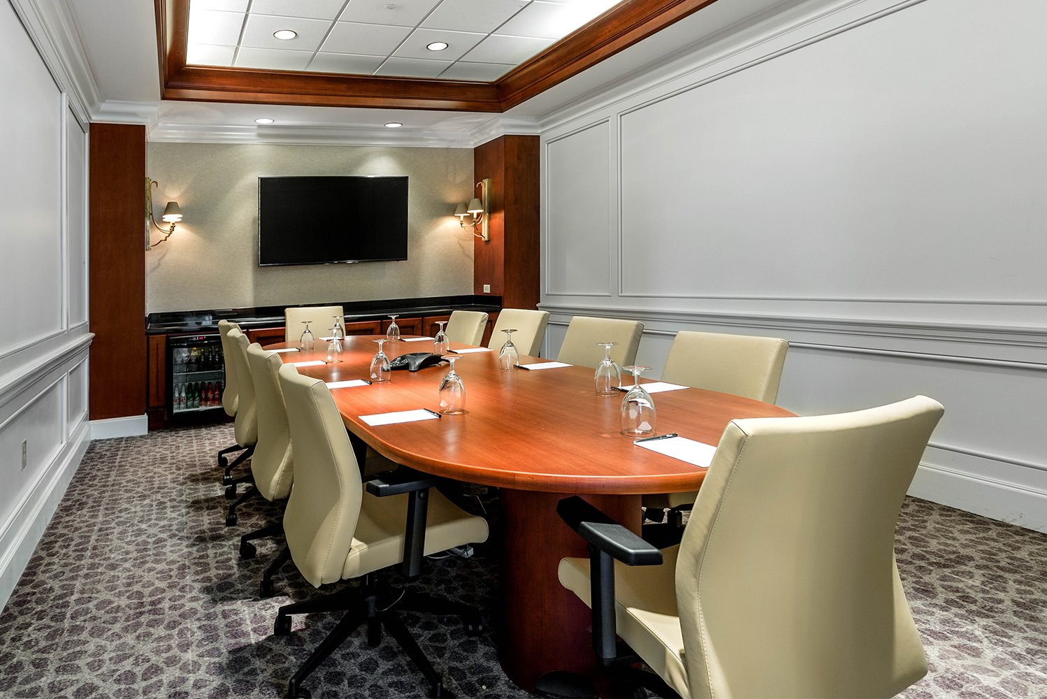 The Hilton Columbus at Easton added over 9,000 additional square feet of meeting rooms and event space.