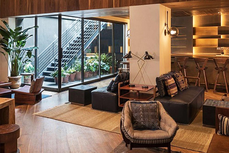 Developer Sam Gelin opened MADE Hotel, a property spread across 18 stories.